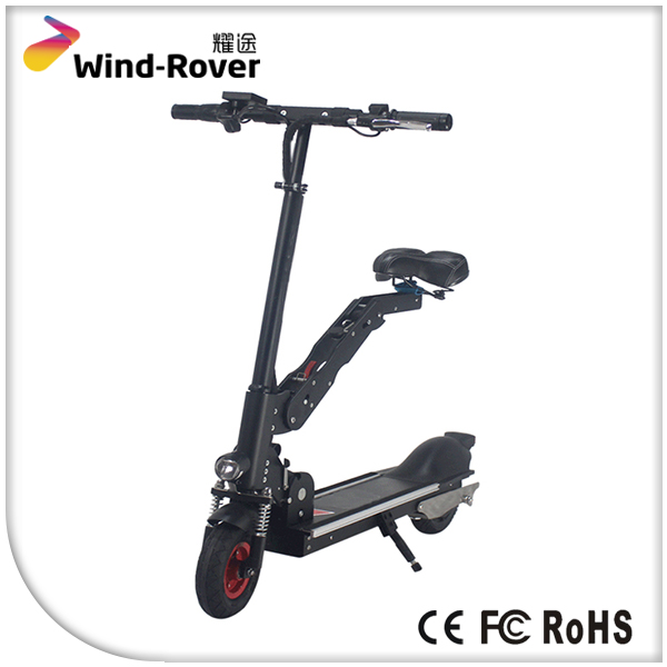 2 seat self balancing electric folding mobility scooter for Folding motorized scooter for adults