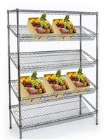 High quality Slanted Shelf Merchandisers Dispenser Racks