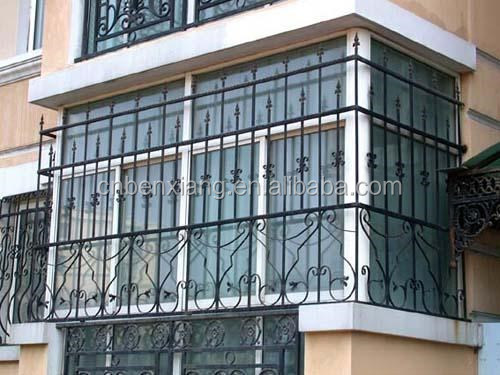Decorative Wrought Iron Window Grill Design Iron Window Guard