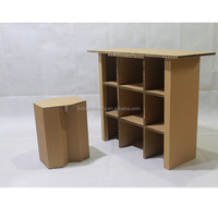 Paper,corrugated cardboard Material Custom Diy Paper Furniture
