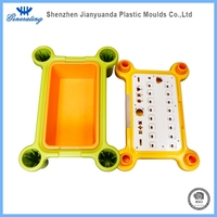 Household plastic table products injection mold making