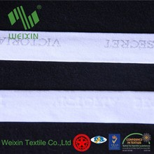 22mm wide woven ribbon white nylon band elastic band for sexy underwear