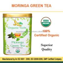 Moringa Herbal Green Tea Bags