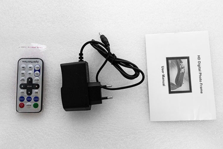 8 Inch Ultra Thin16:9 Wifi Digital Photo Frame With Rechargeable ...