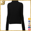 SHANGYI green high neck vest, high neck sweater for women