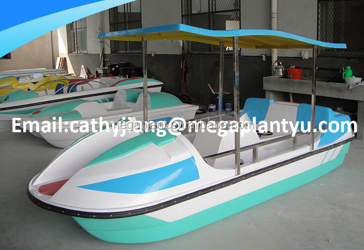 Fiberglass 4 passenger water used pedal boat for sale price
