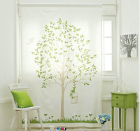 Tree Design Window Curtain, Door Curtain