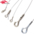 Aircraft stainless steel wire cable gripper for UFO light hanging