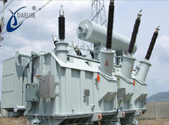 Oil immersed low-loss three phase 210kv 150 mva power transformer