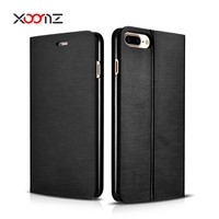 XOOMZ 2016 New Design PU Leather Flip Wallet Case for iPone 7 Stand cover