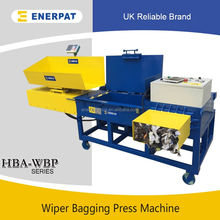 Wipper Rags Bagging Press Machine /Horizontal Baler Machine With Diesel Engine/Baler Machine For Used Clothing