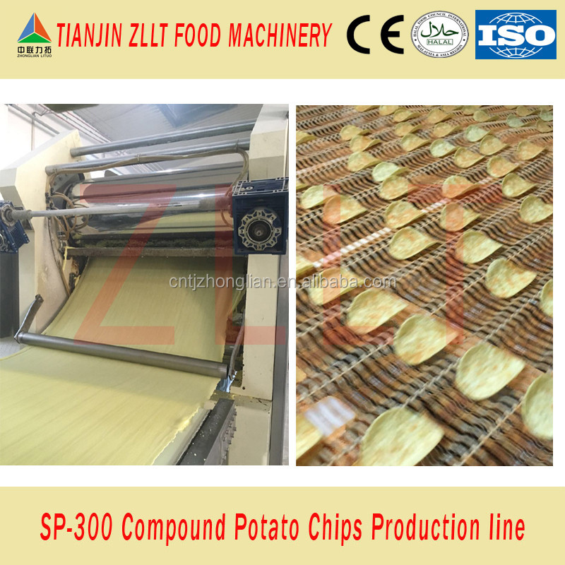 Pringles potato chips production line from China