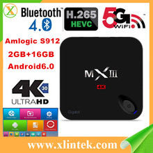 MXIII-G hybrid iptv smart tv box OTT&IPTV Set Top Box