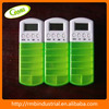 Weekly Drug Box with Timer Storage Plastic Containers for Medicine
