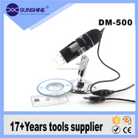 DM-500 500X USB 2.0 version 8 LED Endoscope Digital Microscope Camera