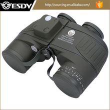 Military Tactical 10X50 marine binoculars with Rangefinder and Compass Reticle Illuminant