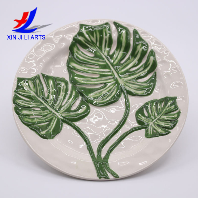 ceramic plate cheap bulk flat white flower pattern porcelain dinner plates for wedding & ceramic porcelain flat plate_Yuanwenjun.com