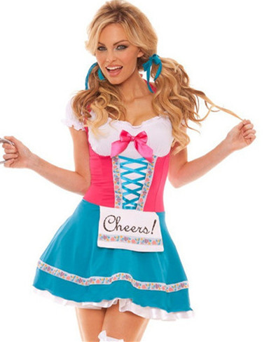 Halloween Sexy German Beer Maid Costumes & Accessories Carnival Fancy Dress Beer Girl Uniform Temptation for Women CC0031