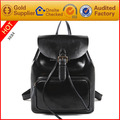 2017 hot new high quality genuine leather fashion stylish backpacks for ladies