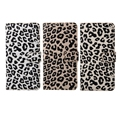 BRG Fashion Leopard Style For Samsung Note 5 Flip Retro Leather Case+Wallet Bag +Photos Frame