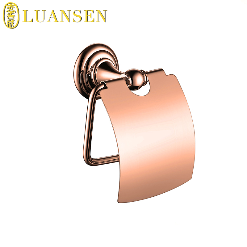 Hot selling series of styles brass made wall mounted bathroom paper towel holder