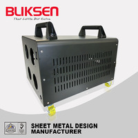 OEM powder coating / laser cutting metal computer case
