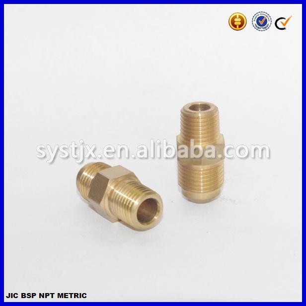 Cnc machining brass elbow fitting buy