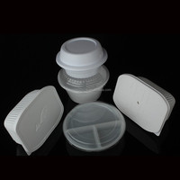 disposable microwavable tray - round / rectangle