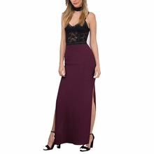 Pictures Of Party Wear Long Net Skirt For Women Beat The Sunrise Wine Maxi Skirt
