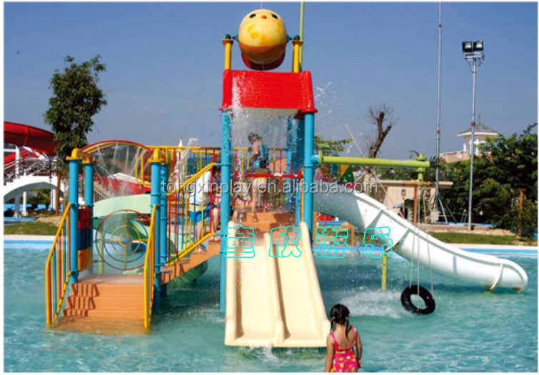 Outdoor water park equipment slide prices for adult