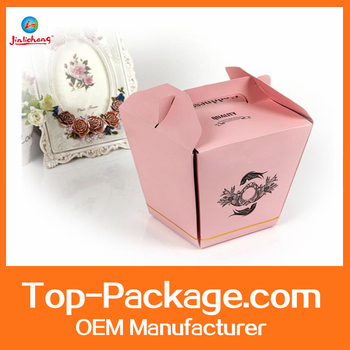 Fashion cheap custom made gift boxes