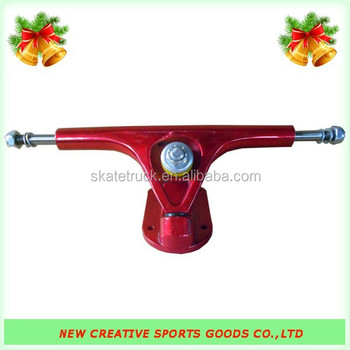 MAPL-180 Longboard Trucks (Red/Red)