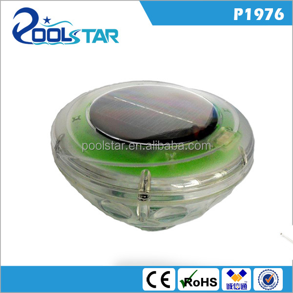 P1976 underwater 0.4w LED lamp IP67 solar pool light