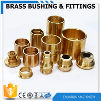 brass bush for bs conduit high quality mechanical part excavator bushing sleeve bearing