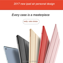 2017 brand new and noble style liquid silicone case for ipad pro 9.7