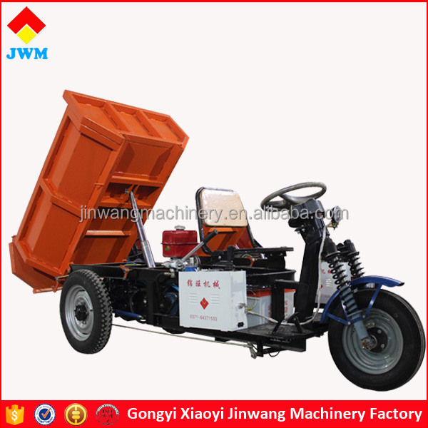 construction machinery hydraulic lifiing elecrtric cargo tricycle