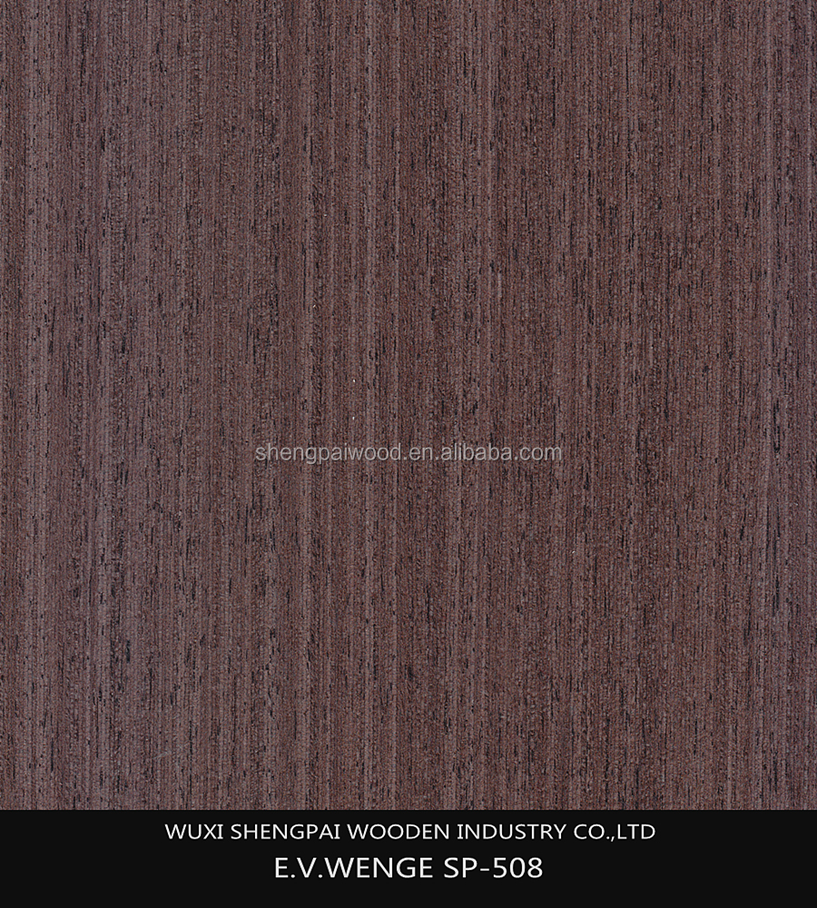 cheap wenge types of wood veneerfor furniture decoration/plywood face recon veneer