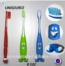 Best Cute Kids Toothbrush With Suction Bottom&Stand Up Kids Suction Toothbrush