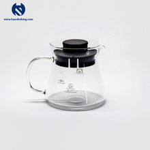 450ml Taiwan Made Glass Coffee Carafe With Plastic Lid