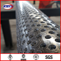 Perforated Stainless Steel Tube, 316 stainless perforated tube