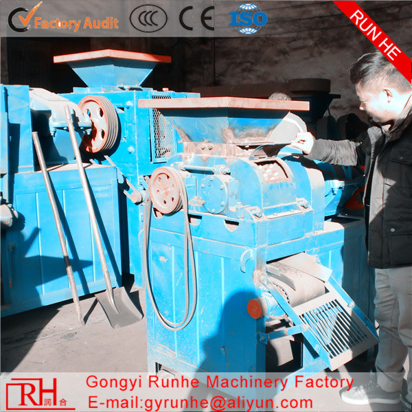 Factory price machine to make wood briquette charcoal ball briquette coal ball press machine