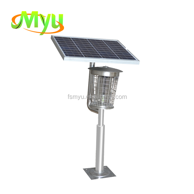 Big Solar Mosquito Zapper Electronic Moth Trap with UV Light Mosquito Killer
