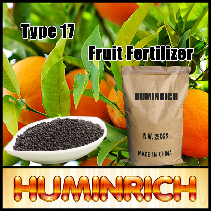 Huminrich Water Soluble Coffee Smell Agriculture Fertilizer Humic Acid + Amino Acid Granules