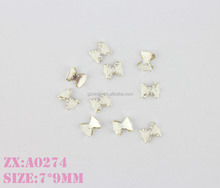 top quality decoration kit nail art for long fake toe nail with rhinestone,bow decoration