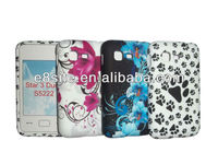 For SamSung S5222 Star 3 Duo Custom Printing TPU Case
