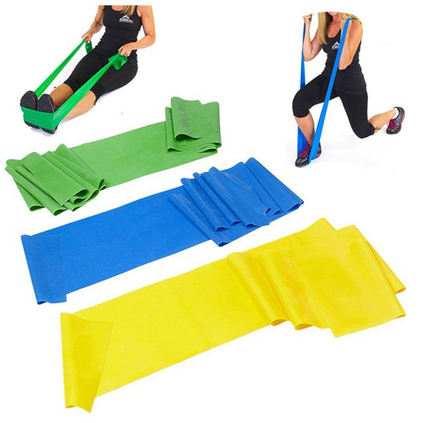 rubber loop band home gym fitness natural latex resistance exiercise bands