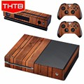 For Xbox 1 Xbox one Sticker Skin Decal Wooden Grain