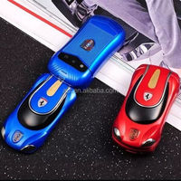 2015 new arrival 1.44 inch mini size flip sport car mobile phone F9