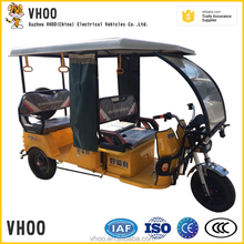 Vhoo new arrival electric tricycle for passenger for sale/electric passenger rickshaw tricycle