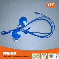 high quality zipper factory plastic fancy zipper ear phone for sale